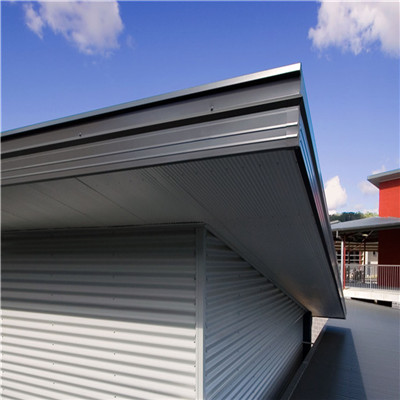 Steel Fascia Provide A Protective Covering For The Fascia