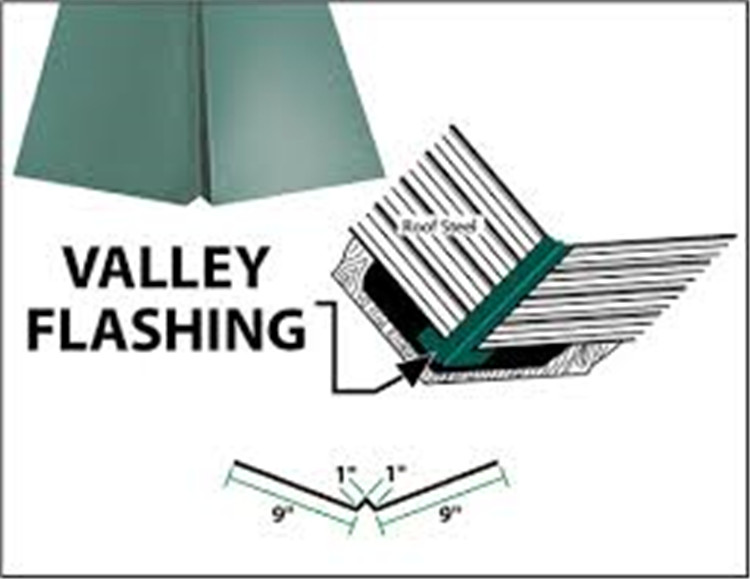 Roof Valley Flashing Geit Metal Roof Accessories Factory