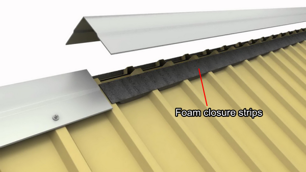 The Features Of Foam Closure Strips For Metal Roof Panels