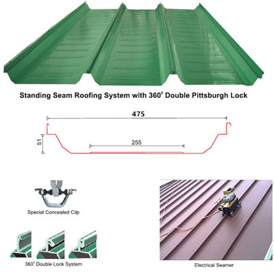 Standing Seam Roofing System Roof Clips Geit Metal Roof